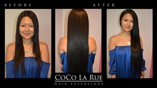 Hair Extensions by CoCo La Rue