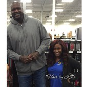My client spotted with Shaq