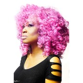 Cotton Candy Pink Crochet Weave