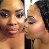 Prom2015 with individual lashes