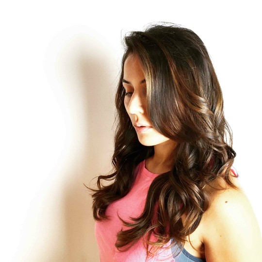 Rich dimensional brunette