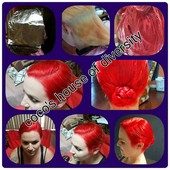 Little Mermaid hair custom color