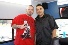 "With the esteemed ""Peoples Champ""