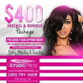 #2452530 STAR's Appointment Photo taken in STUDIOTRESS REMY HAIR BAR & SALON SUITES, Plantation