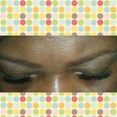 Lashes done by me