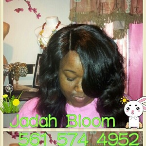 Jadah Bloom Sew ins and Extensions's photo