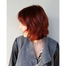 Coppery red, great fall color!