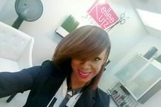 Kellee @ Kellee Kutz Studio After Custom Color w/Natural Hair Blowout