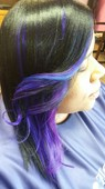 Purple blue haze