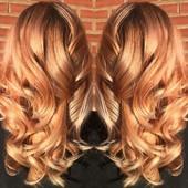 Balyage blonding