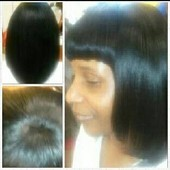 Full Sew in Weave-Hair Extension with a Flawless Closure