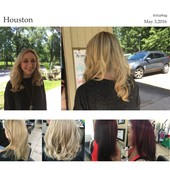 Color correction , very blond turn into bayalage color  great look
