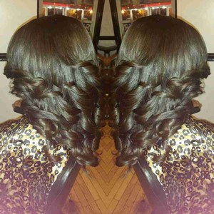 All hair by Kina Weave Specialist's photo